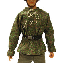 1:6 Scale German WWII Dot Camo Smock with Patch