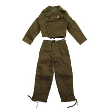 1:6 Scale German WWII SS Panzer Tunics and Breeches
