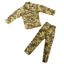1:6 Scale British Army Desert DPM Field Shirt & Trousers