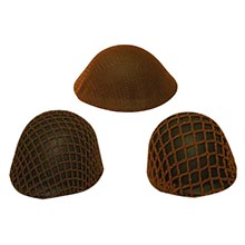 1:6 Scale British & US Helmet Brown Scrims Collection Vol.2
