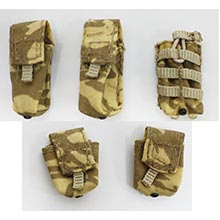 1:6 Scale British Modern Camo Pouch Set