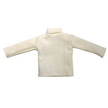 1:6 Scale British WWII Expeditionary Force White Sweater