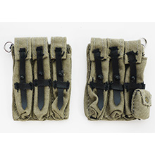 1:6 Scale German MP40 Ammunication Pouch (Left) /(Right)