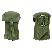 1:6 Scale British 58-pattern Webbing Water Pouch x 2pcs