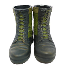 1:6 Scale U.S. Vietnam War PMC Combat Boot