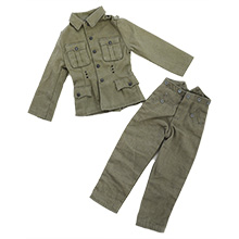 1:6 Scale German WWII SS 1937-pattern Field Blouse & M37 Trouser