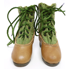 1:6 Scale German WWII DAK Afrika Korps NCO Tropical Jungle Boot