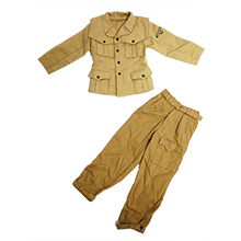 1:6 Scale Italian WWII Army Jacket & Tropical Luftwaffe Trouser