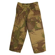 1:6 Scale British Windproof Camouflage Trouser
