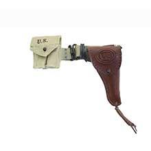 1:6 Scale U.S. WWII M1916 Holster Set For Colt 1911