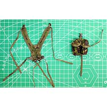 1:6 Scale British Royal Marine Webbing and Pouch (Elite Force)