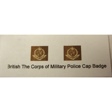 British The Corps of Military Police Cap Badge